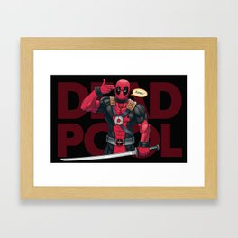The Merc With a Mouth Framed Art Print