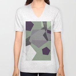Sekskant + gray Unisex V-Neck