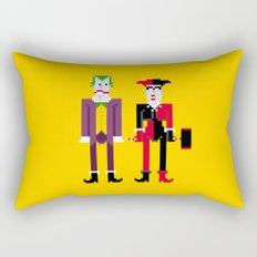 Joker and Harley Quinn Rectangular Pillow