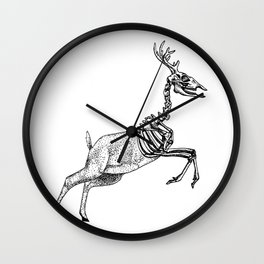 Don't be Afraid of Death Wall Clock