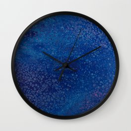 Blue-ish Wall Clock