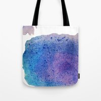 splatter Tote Bags featuring Splatter by Courtney Burns