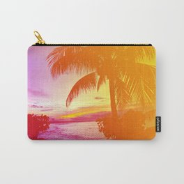 Tropical Dreamsicle Carry-All Pouch