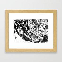 NYC_Stroll Framed Art Print