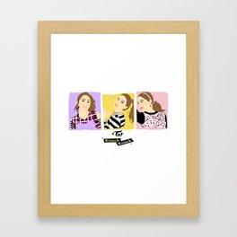 Knock Knock! Chaeyoung Version Framed Art Print