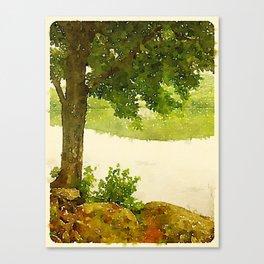 Camp Fairhaven, Maine Canvas Print