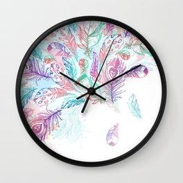 Bohemian Rain Wall Clock