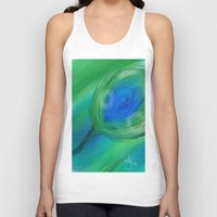 peacock Tank Tops featuring Peacock by ANoelleJay