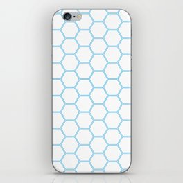 Honeycomb Blue #370 iPhone Skin
