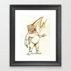 The Fatman Framed Art Print