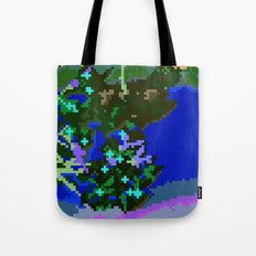 Sakura pixel Tote Bag