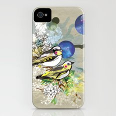 Yellow Birds iPhone (4, 4s) Slim Case