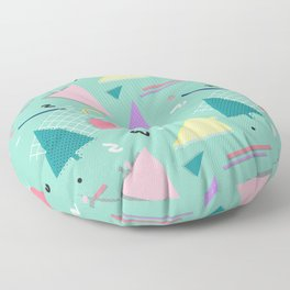 Memphis Xmas Floor Pillow