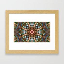 Sagrada Familia - Vitral 1 Framed Art Print