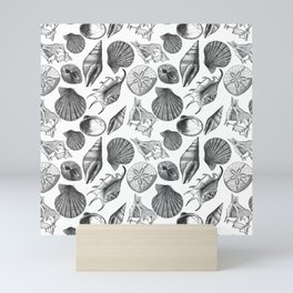 Sea and Ocean Life-Shell Pattern - Mix & Match with Simplicity of life Mini Art Print