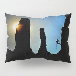 Rock Climbing Mountaineer Pillow Sham