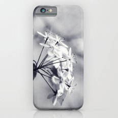 Blossoms in Black and White Slim Case iPhone 6s
