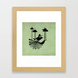 Midnight Hunt Framed Art Print