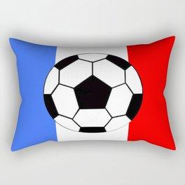 France Foot Rectangular Pillow