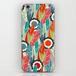 Floral jungle iPhone Skin