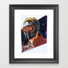 My Name Is Star Lord Framed Art Print