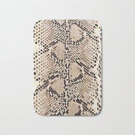 Snake skin art print Bath Mat