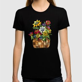 Happy Flowers T-shirt