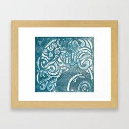 Billow Framed Art Print