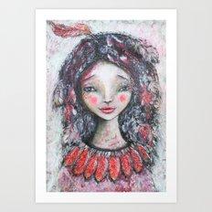 Spirit Wanderer, Spiritual Wanderer Art Print