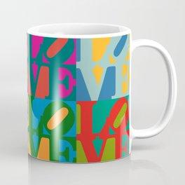 Love Pop Art Coffee Mug