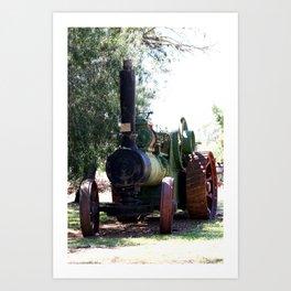 Lincoln - Ruston Proctor Co Ltd Art Print