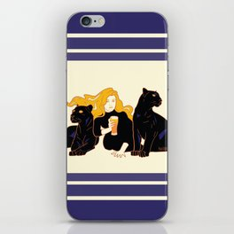 Panther Brews iPhone Skin