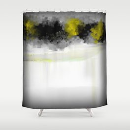 The Creek Runneth Over Shower Curtain
