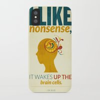 dr seuss iPhone & iPod Cases featuring Dr. Seuss by Kongoriver