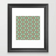 pttrn3 Framed Art Print