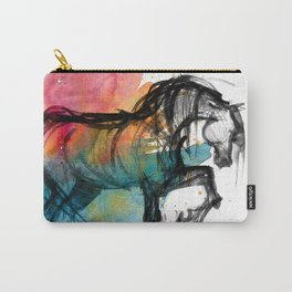 Horse (Saklavi - color version) Carry-All Pouch