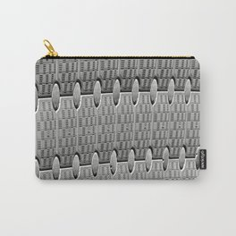 Pattern in Plastic Carry-All Pouch