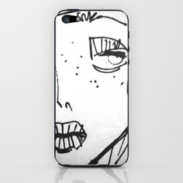 portrait iPhone Skin