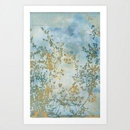 Hazy Days Wet Cyanotype Art Print