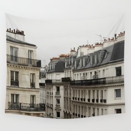 Traditional Paris Rooftops  Wall Tapestry