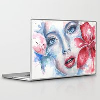lily Laptop & iPad Skins featuring Lily by broken colors