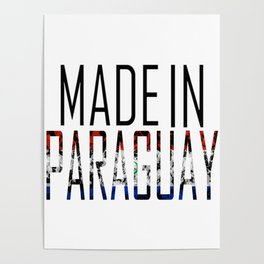 Made In Paraguay Poster