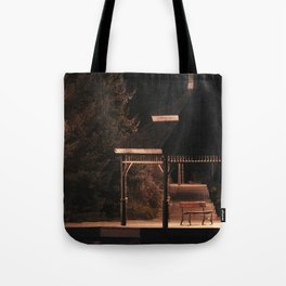 Join Me Down by the Water, Loo   Gazebo Tote Bag
