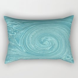 Swirls of time Rectangular Pillow