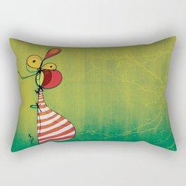 Ballon Man Rectangular Pillow