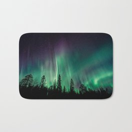 Aurora Borealis (Heavenly Northern Lights) Bath Mat
