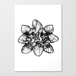 Bound: Hearts Canvas Print