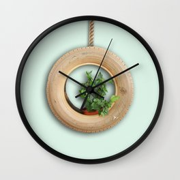 strangling nature Wall Clock