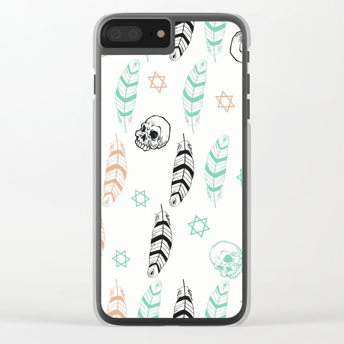 Warriors Clear iPhone Case