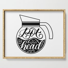 Pot Head - Coffee Lover Serving Tray